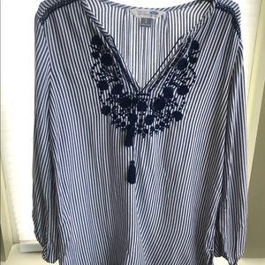 Old navy women's the tunic shirt sz S
